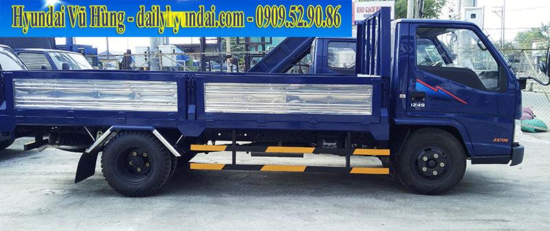 Xe tải iz49 đô thành 2.5 tấn