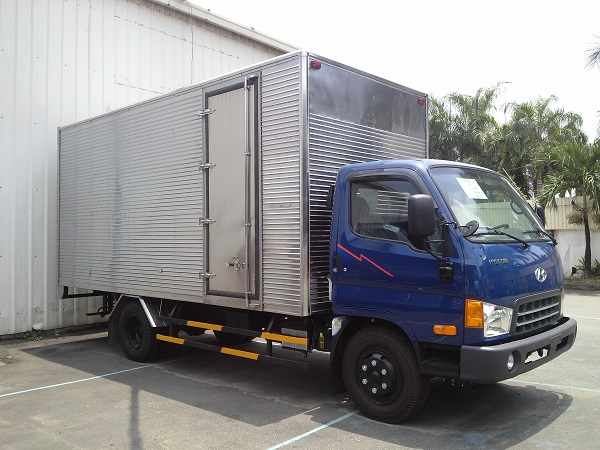 xe tải hyundai hd65 thùng kín 2 tấn