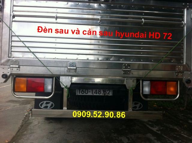 xe tai hyundai hd72 thùng inox