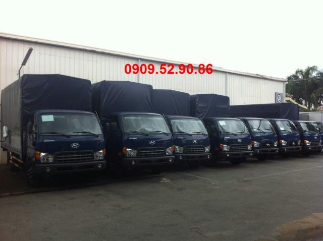 xe tải hyundai hd72 thùng bạt